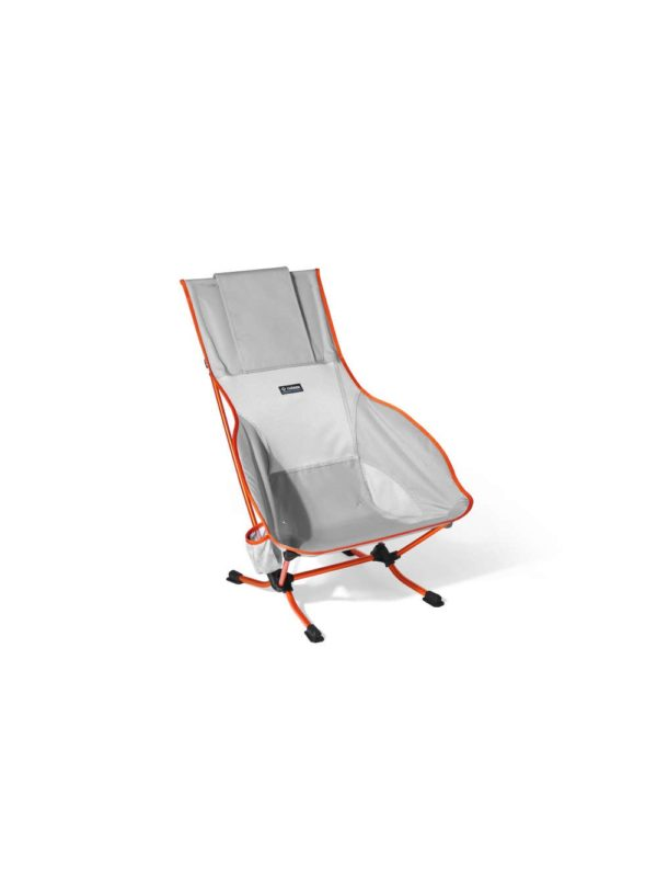 Playa Chair: Grey & Curry